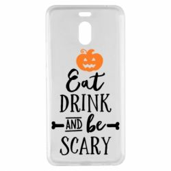 Чехол для Meizu M6 Note Eat Drink and be Scary - FatLine
