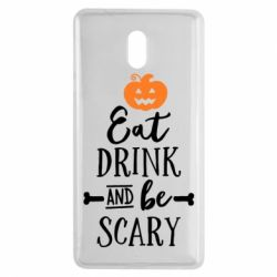 Чехол для Nokia 3 Eat Drink and be Scary - FatLine
