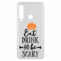 Чехол для Samsung A9 2018 Eat Drink and be Scary - FatLine