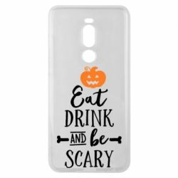 Чехол для Meizu Note 8 Eat Drink and be Scary - FatLine
