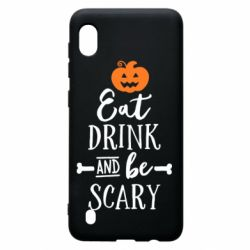 Чохол для Samsung A10 Eat Drink and be Scary