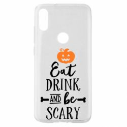 Чохол для Xiaomi Mi Play Eat Drink and be Scary