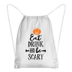 Рюкзак-мешок Eat Drink and be Scary - FatLine