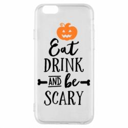 Чехол для iPhone 6/6S Eat Drink and be Scary - FatLine