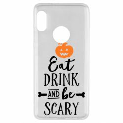 Чехол для Xiaomi Redmi Note 5 Eat Drink and be Scary - FatLine