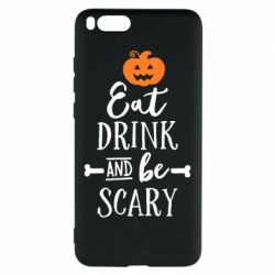 Чехол для Xiaomi Mi Note 3 Eat Drink and be Scary - FatLine