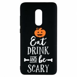 Чехол для Xiaomi Redmi Note 4 Eat Drink and be Scary - FatLine