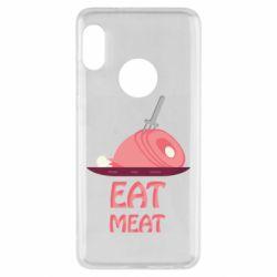 Чехол для Xiaomi Redmi Note 5 Eat meat