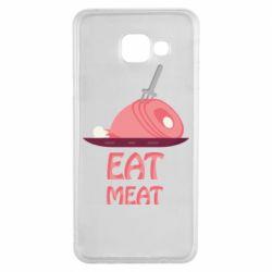 Чехол для Samsung A3 2016 Eat meat