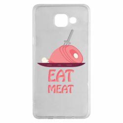 Чехол для Samsung A5 2016 Eat meat