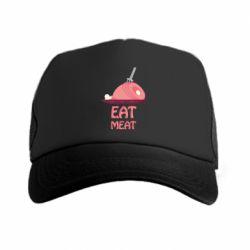 Кепка-тракер Eat meat