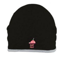 Шапка Eat meat