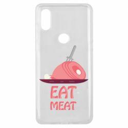 Чехол для Xiaomi Mi Mix 3 Eat meat