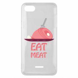 Чехол для Xiaomi Redmi 6A Eat meat