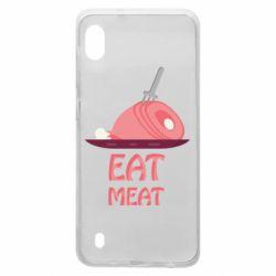Чехол для Samsung A10 Eat meat
