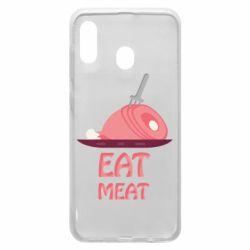 Чехол для Samsung A30 Eat meat