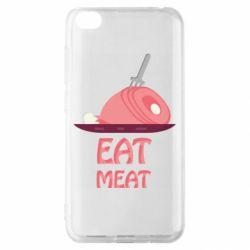 Чехол для Xiaomi Redmi Go Eat meat