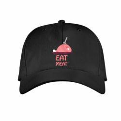 Детская кепка Eat meat