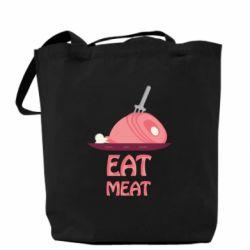 Сумка Eat meat