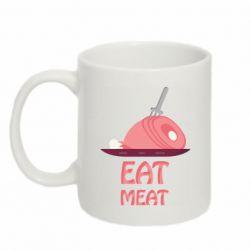 Кружка 320ml Eat meat