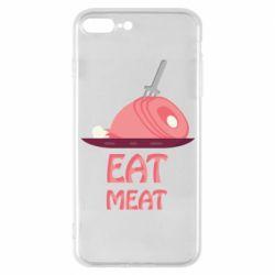Чехол для iPhone 7 Plus Eat meat