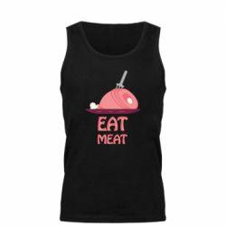 Мужская майка Eat meat