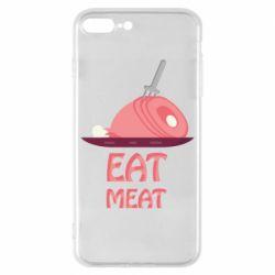 Чехол для iPhone 8 Plus Eat meat