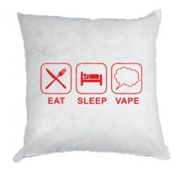 Подушка Eat,Sleep and Vape