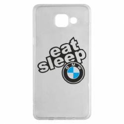 Чохол для Samsung A5 2016 Eat, sleep, BMW