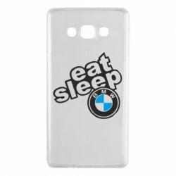 Чохол для Samsung A7 2015 Eat, sleep, BMW