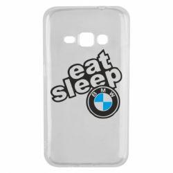 Чохол для Samsung J1 2016 Eat, sleep, BMW