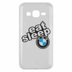 Чохол для Samsung J2 2015 Eat, sleep, BMW