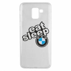 Чохол для Samsung J6 Eat, sleep, BMW