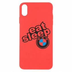 Чохол для iPhone Xs Max Eat, sleep, BMW