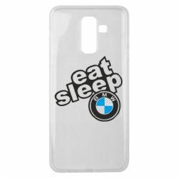 Чохол для Samsung J8 2018 Eat, sleep, BMW