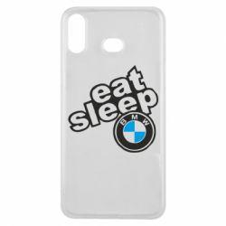 Чохол для Samsung A6s Eat, sleep, BMW