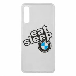 Чохол для Samsung A7 2018 Eat, sleep, BMW