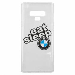 Чохол для Samsung Note 9 Eat, sleep, BMW