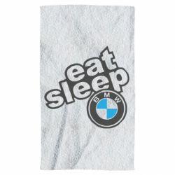 Рушник Eat, sleep, BMW
