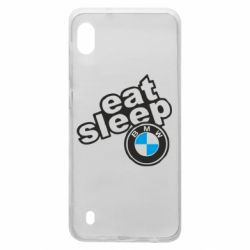 Чохол для Samsung A10 Eat, sleep, BMW