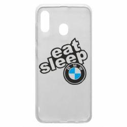 Чохол для Samsung A30 Eat, sleep, BMW