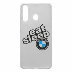 Чохол для Samsung A60 Eat, sleep, BMW