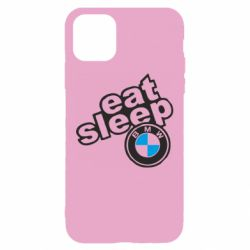 Чохол для iPhone 11 Eat, sleep, BMW