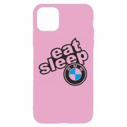 Чохол для iPhone 11 Pro Max Eat, sleep, BMW