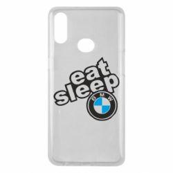 Чохол для Samsung A10s Eat, sleep, BMW