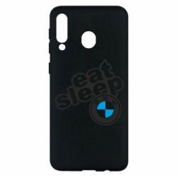 Чохол для Samsung M30 Eat, sleep, BMW