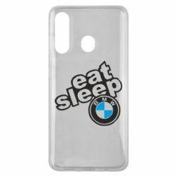 Чохол для Samsung M40 Eat, sleep, BMW