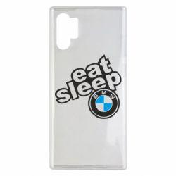 Чохол для Samsung Note 10 Plus Eat, sleep, BMW
