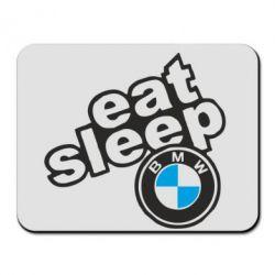 Килимок для миші Eat, sleep, BMW