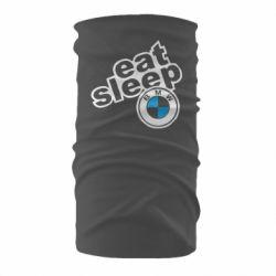 Бандана-труба Eat, sleep, BMW